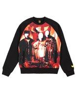 Wu-Tang Men's Disciples Crewneck Shirt 45WU0103 Black SZ M - $78.13