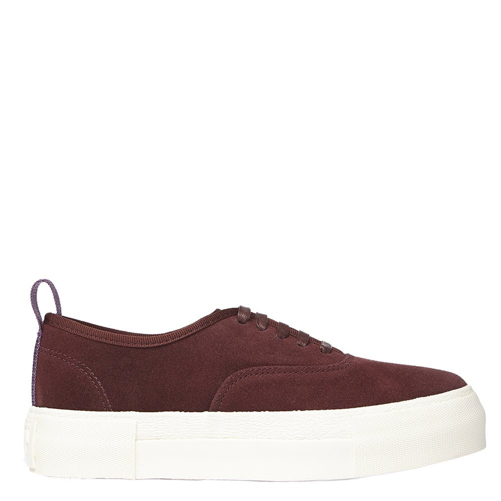 Eytys Unisex Fashion Sneakers MOTHERSUEDE Oxblood Size EU 41