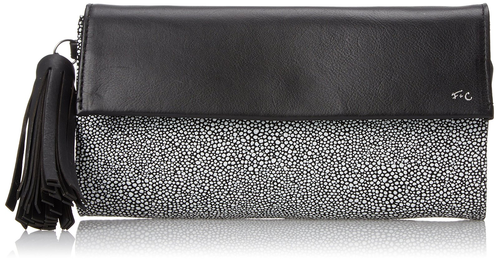 Foley + Corinna Vesta Clutch Cross Body Bag, Black Combo, One Size