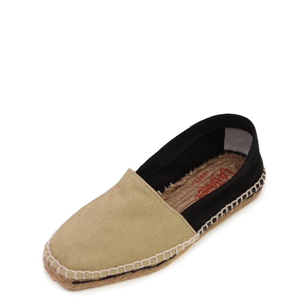 Castaner Women's Canvas Onda Slip-On Espadrille ONDA/canvas 600 Sand/Black SZ 36