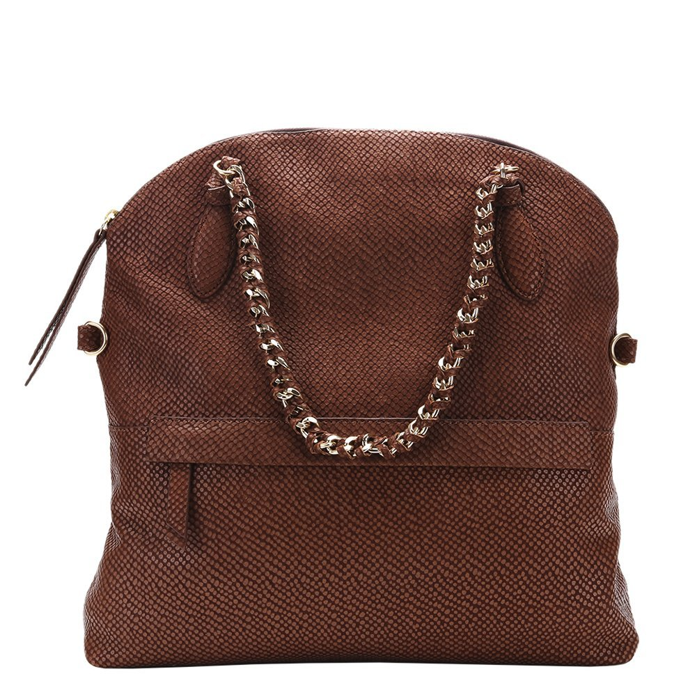 Foley & Corinna Tiggy Tote Bag FC153040 Snake Brown One Size