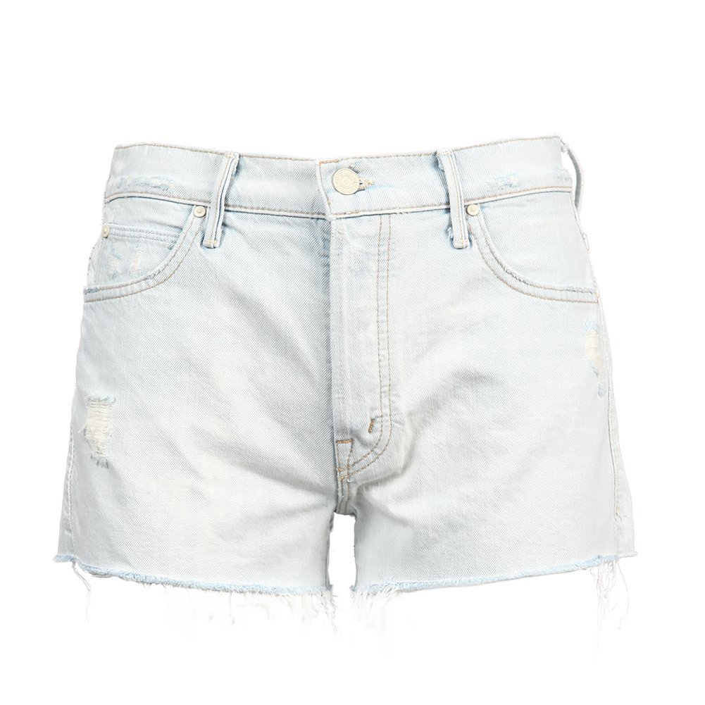 Mother Denim Women's The Stunner Fray Short 4101-347 Get Blonde SZ 25