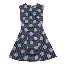 Kenzo Women's Dresses Main SS15 F552RO2106F6-76 Navy Blue SZ 36 - $270.60