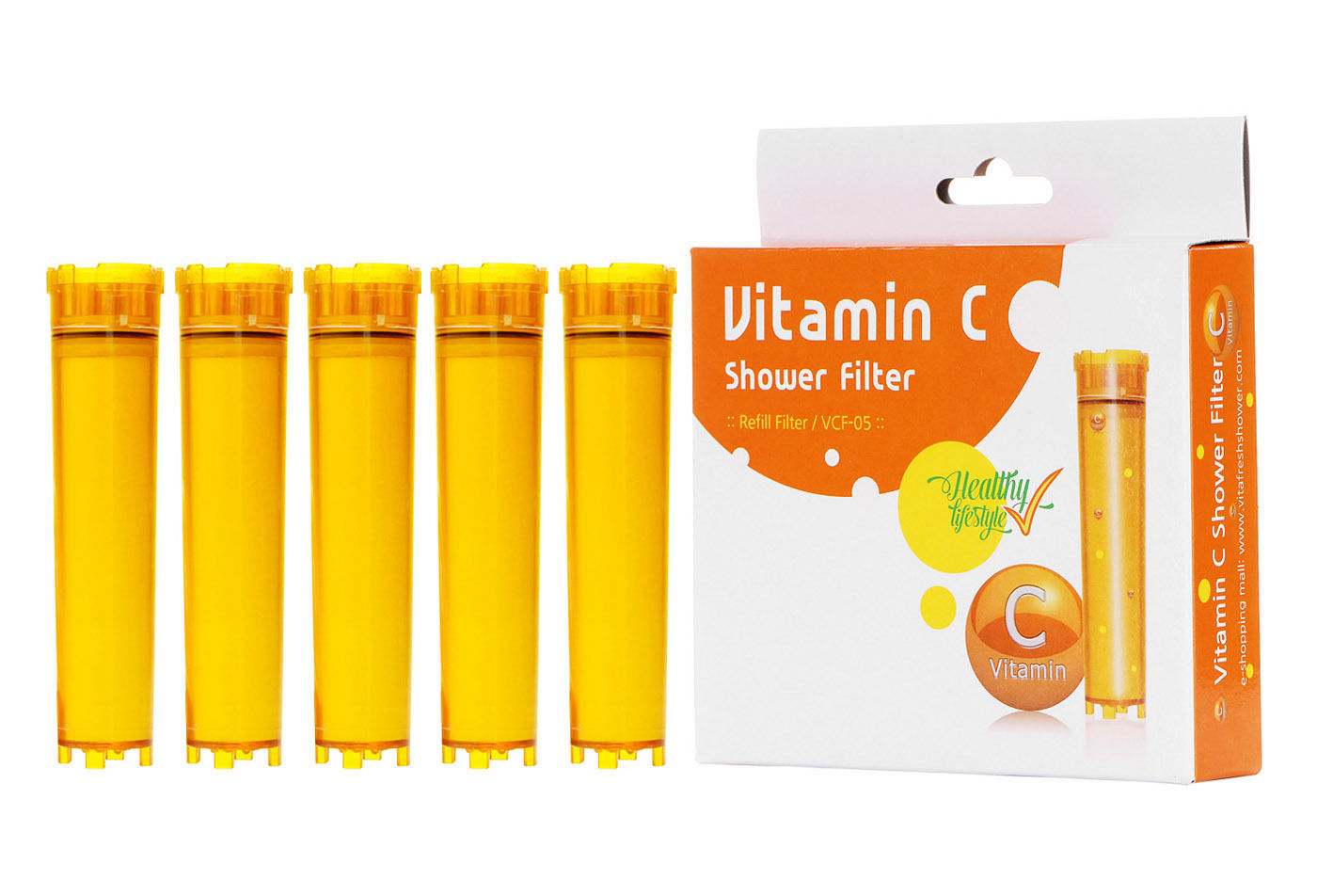 luxury vita fresh shower filter with 7 vitamin c cartridge vitamin shower water. Black Bedroom Furniture Sets. Home Design Ideas