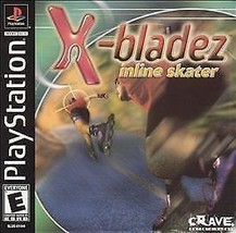 X Bladez Inline Skater PS1 Mint Condition Complete - $5.34