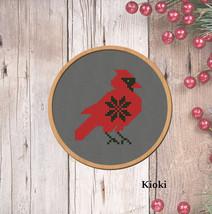 Cross stitch pattern Cardinal  - $3.70