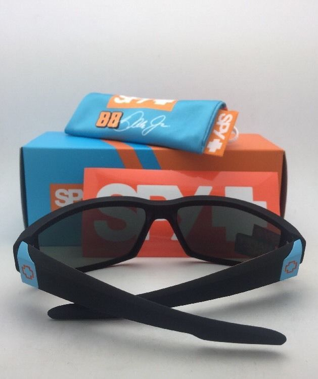 4c7b3f9ce8 New SPY OPTIC Sunglasses DIRTY MO LIVERY Soft Matte Black Frame w/  Grey-Green
