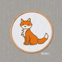 Cross Stitch Pattern Little Fox  - $3.50