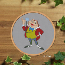 Cross stitch pattern Mr Toad - $4.50