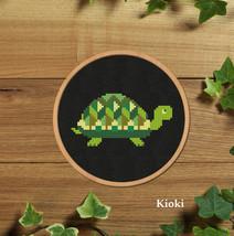 Cross stitch pattern Little Turtle - $4.00