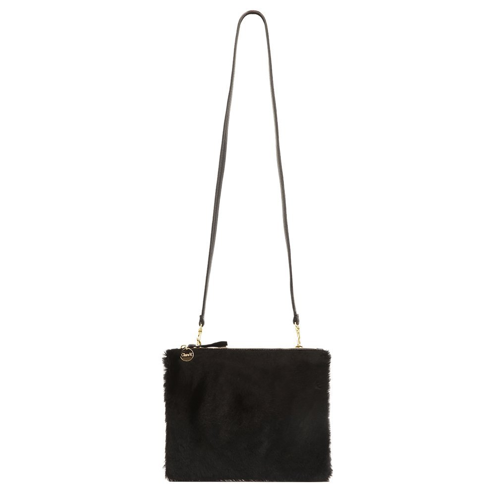 Clare Vivier Women's Double Sac Bretelle Bag CB10019-953 Black One Size