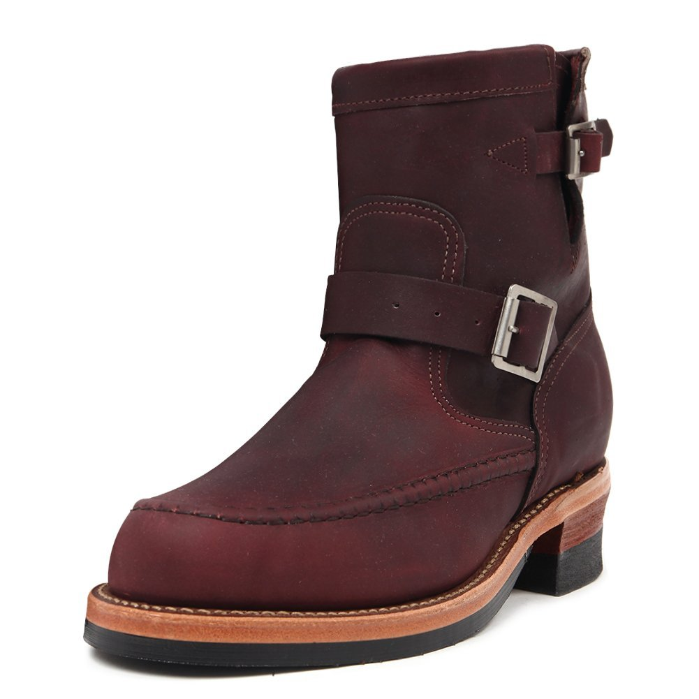 Chippewa Men's Chrome Pack Boots 43513 (E) Burgundy SZ 7.5