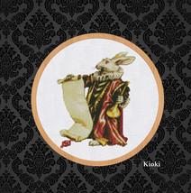 Cross Stitch Pattern Vintage White Rabbit  - $6.00