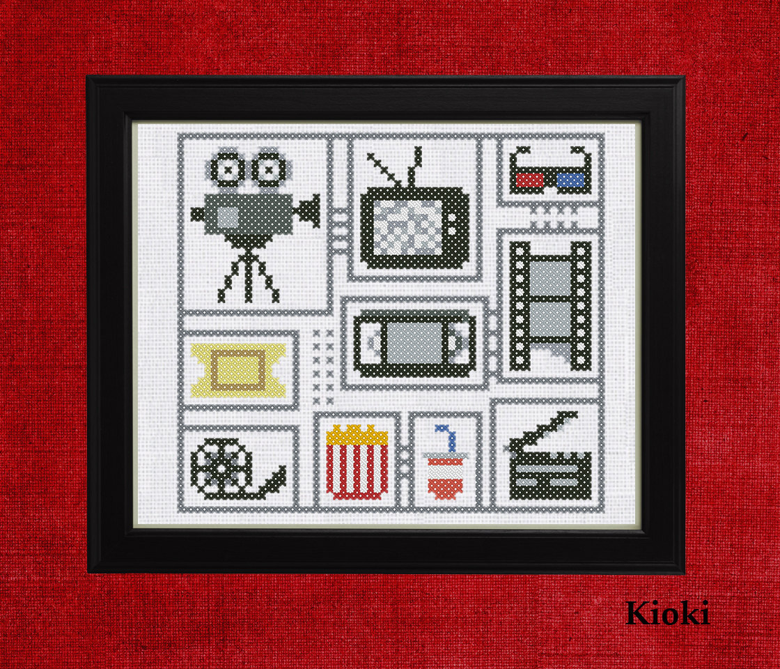 Cross Stitch Pattern For movie fans