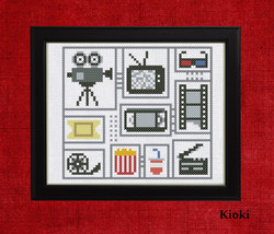 Cross Stitch Pattern For movie fans  - $4.50