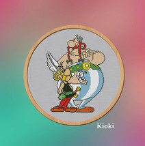 Cross stitch pattern Asterix And Obelix  - $5.00