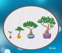 Cross Stitch Pattern Growing Tree - $4.50