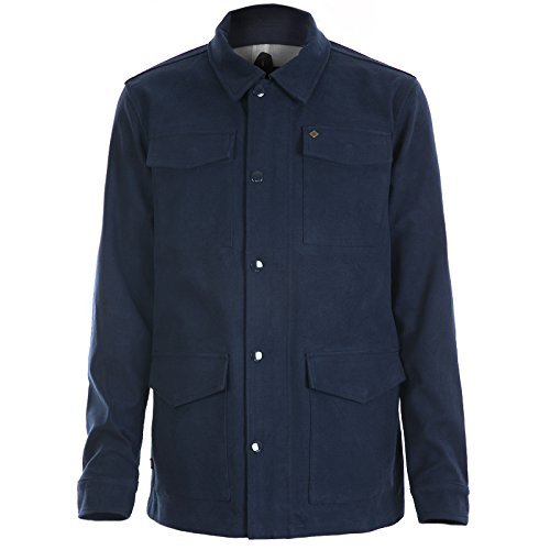 Obey Men's Westerly Jacket Midnight L