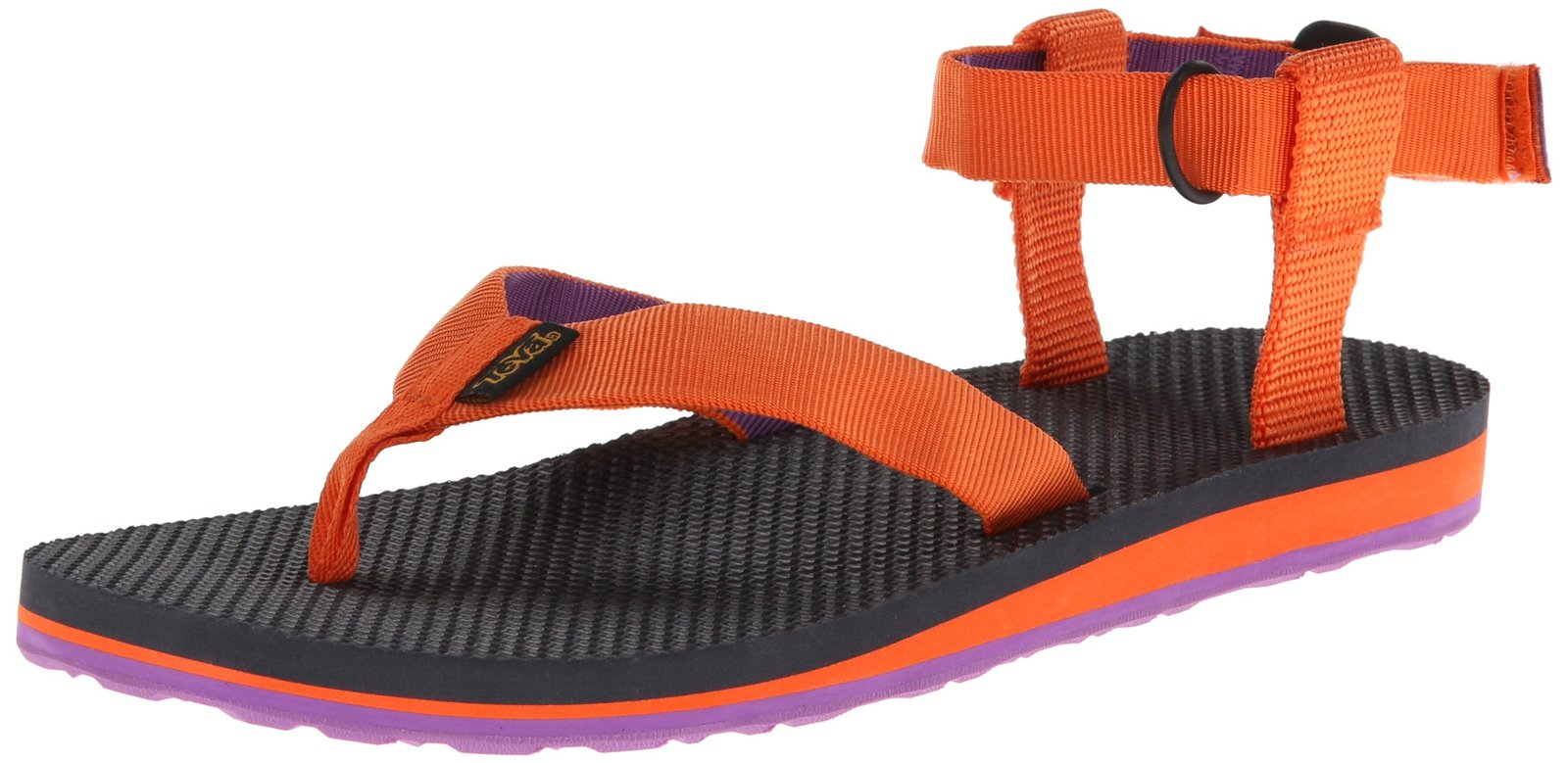 Teva Women's Original Sandal,Orange/Purple,5 M US