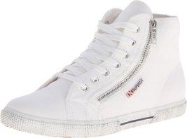Superga Women's 2224 Cotdu Fashion Sneaker, White, 41.5 EU/10 M US - $51.56