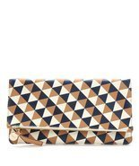 Clare Vivier Women's Margot Foldover Clutch Bag CL10011 Camel - €104,54 EUR