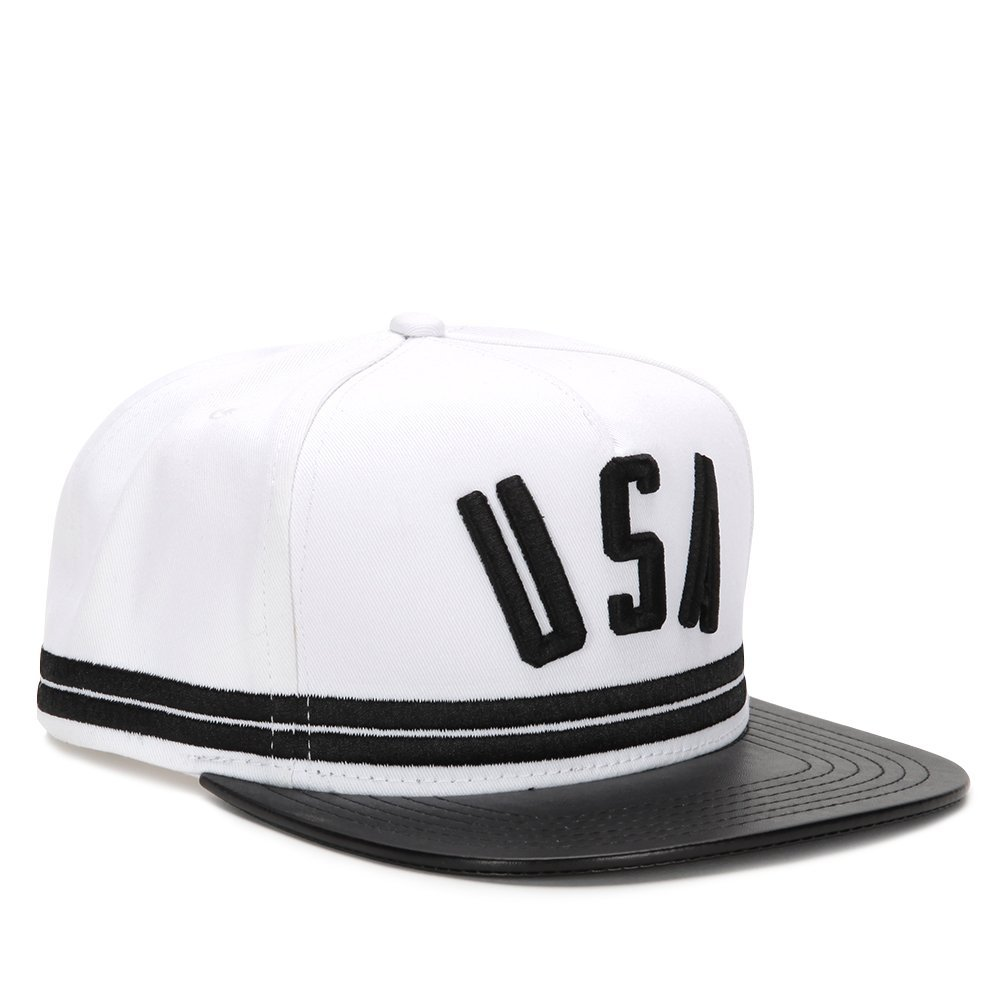 STAMPD Stripe Hat SLA-U267 Black One Size