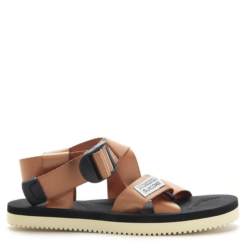 Suicoke Men's Summer CHIN2 Sandals OG-023-2 Brown SZ 4