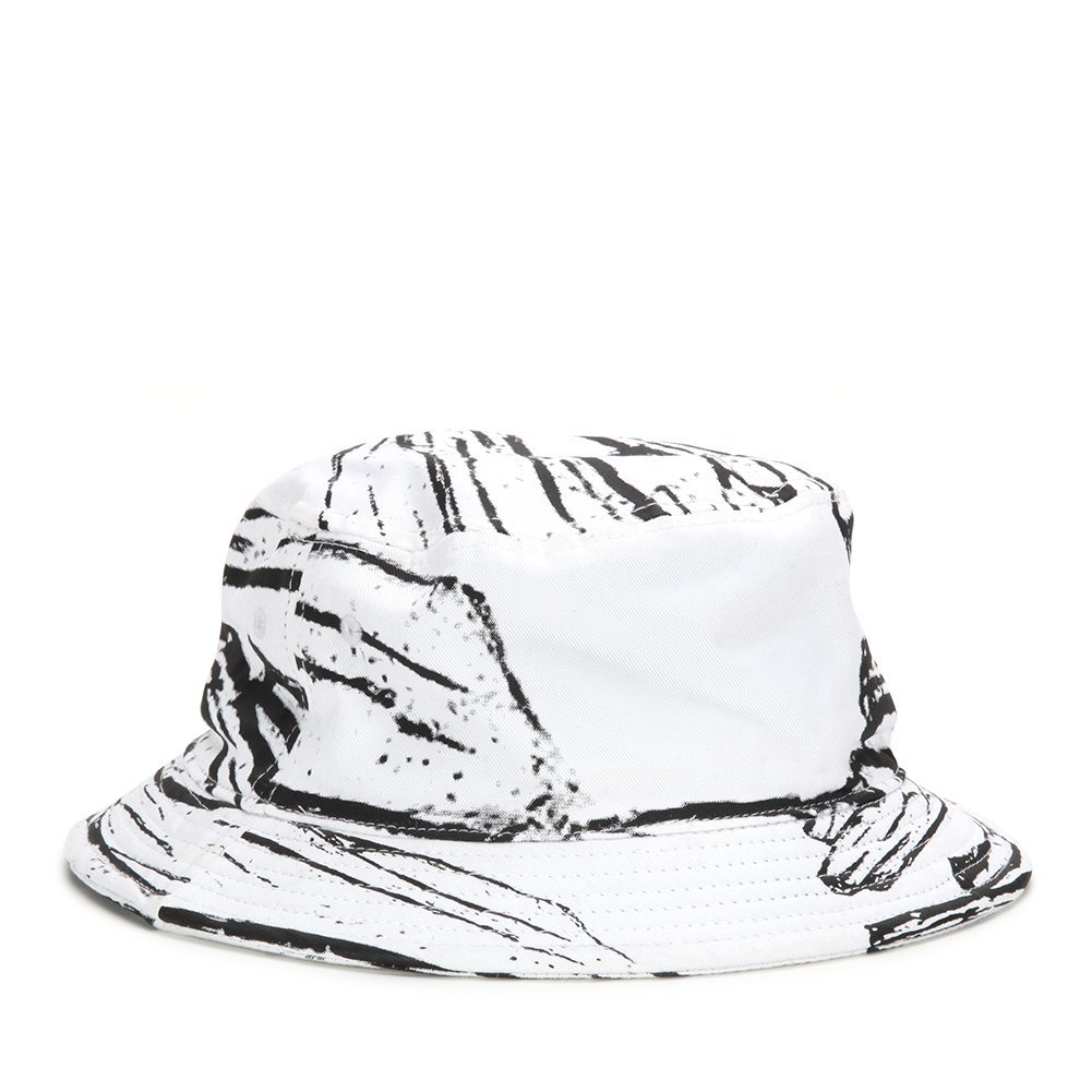 STAMPD Glass Printed Bucket Hat SLA-U429 White One Size