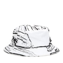 STAMPD Glass Printed Bucket Hat SLA-U429 White One Size - $51.24