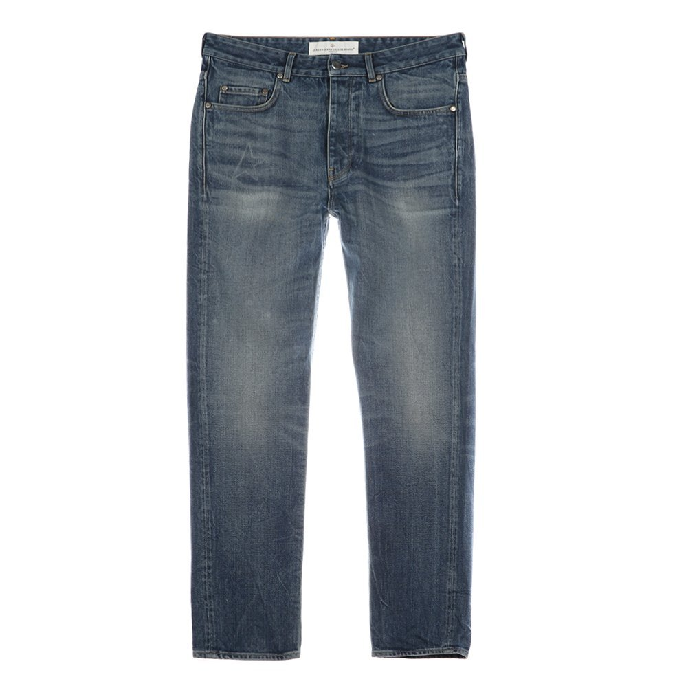 Golden Goose Deluxe Brand Men's Denim Golden Happy Pants G28MP509.A2 Blue SZ 34