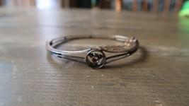VIntage Sterling Silver 10k Gold Handmade Artisan Bracelet - $69.29