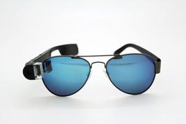 16G Smart Glasses w/Blue Mirror sunglasses Frame(Polar lense)1080P Video... - $129.99