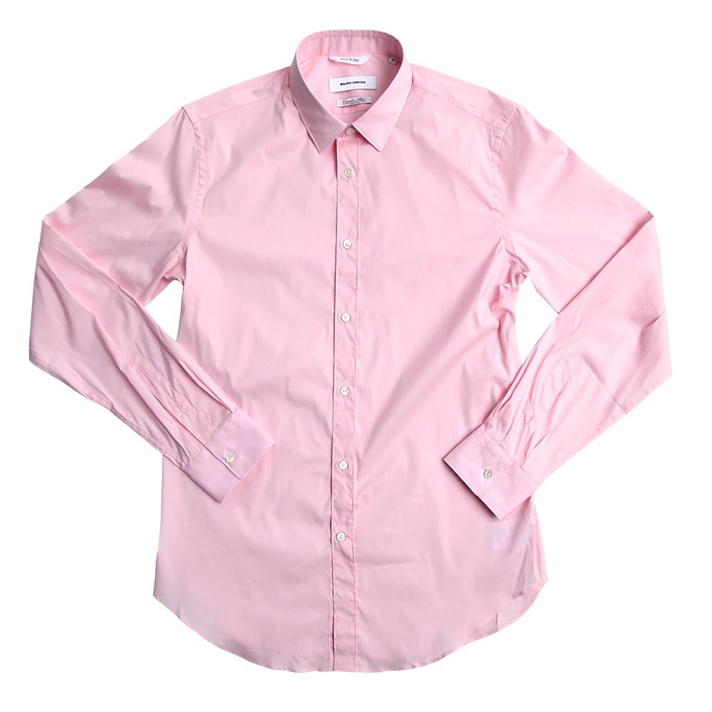 Mauro Grifoni Men's Camicia Slim Button-Down Shirt JG161607-JE001-40 SZ 42