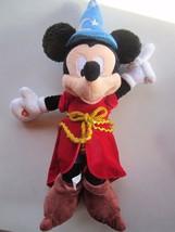"Disney Parks Mickey Mouse Sorcerers Apprentice Plush Toy Light Up Hat 22"" - $21.03"