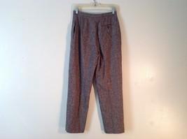 Ladies Charter Club Petite Brown Tweed Pants Size 8P image 5