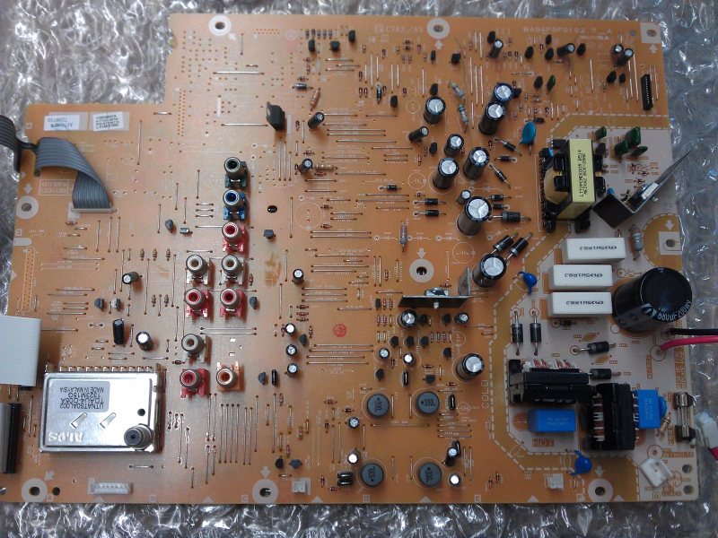 A17G0MPW-001 MPW Power Supply Board From Magnavox 37MF301B/F7  LCD TV