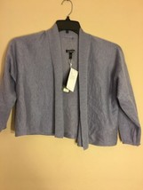 Eileen fisher Fine Tencel Alpaca Short Coat US Size XS/TP - $144.00
