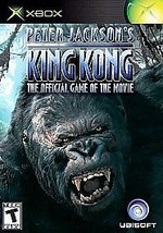 Peter Jackson's King Kong Xbox Great Condition - $7.14