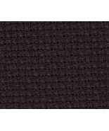 ** Black 14ct Aida 15x18 Charles Craft Classic Reserve cross stitch fabric - $3.75