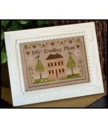 CLEARANCE Dwelling Place Sampler cross stitch c... - $6.00