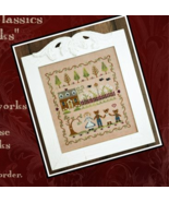 CLEARANCE Goldilocks cross stitch chart Classic Colorworks  - $5.75