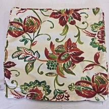 Pair Pottery Barn NEWPORT Island Tropical Print Pillow Cases Zipper Knif... - $32.68