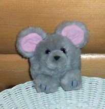 PLUSH FUN SALE Puffkins MURPHY Gray Mouse Wants Home - $6.75