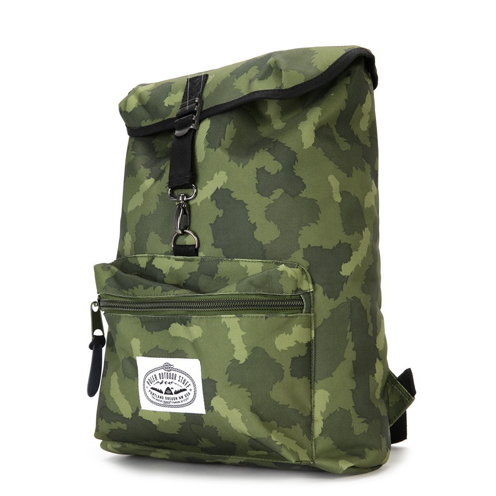 Poler The Field Backpack Casual Style Green Camo One size
