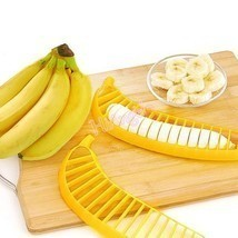 Hot Banana Slicer Chopper Cutter for Fruit Salad Sundaes Cereal Kitchen ... - €2,43 EUR