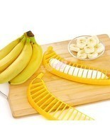Hot Banana Slicer Chopper Cutter for Fruit Salad Sundaes Cereal Kitchen ... - $2.99