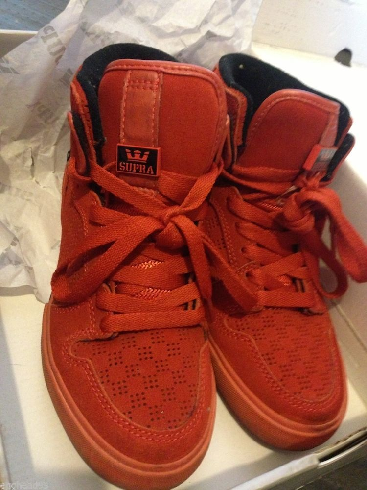 57. 57. SUPRA x CCS Limited Edition Hi-Top VAIDER SHOES Sunburnt ...
