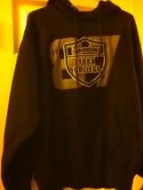 Mv Sport Black Hoodie Timberland Jersey Long Sleeve Mmedium Sized Gray Multicolo - $15.35