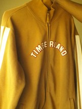 TIMBERLAND BROWN XL FULL ZIPPER JACKET 80% COTTON - $14.00