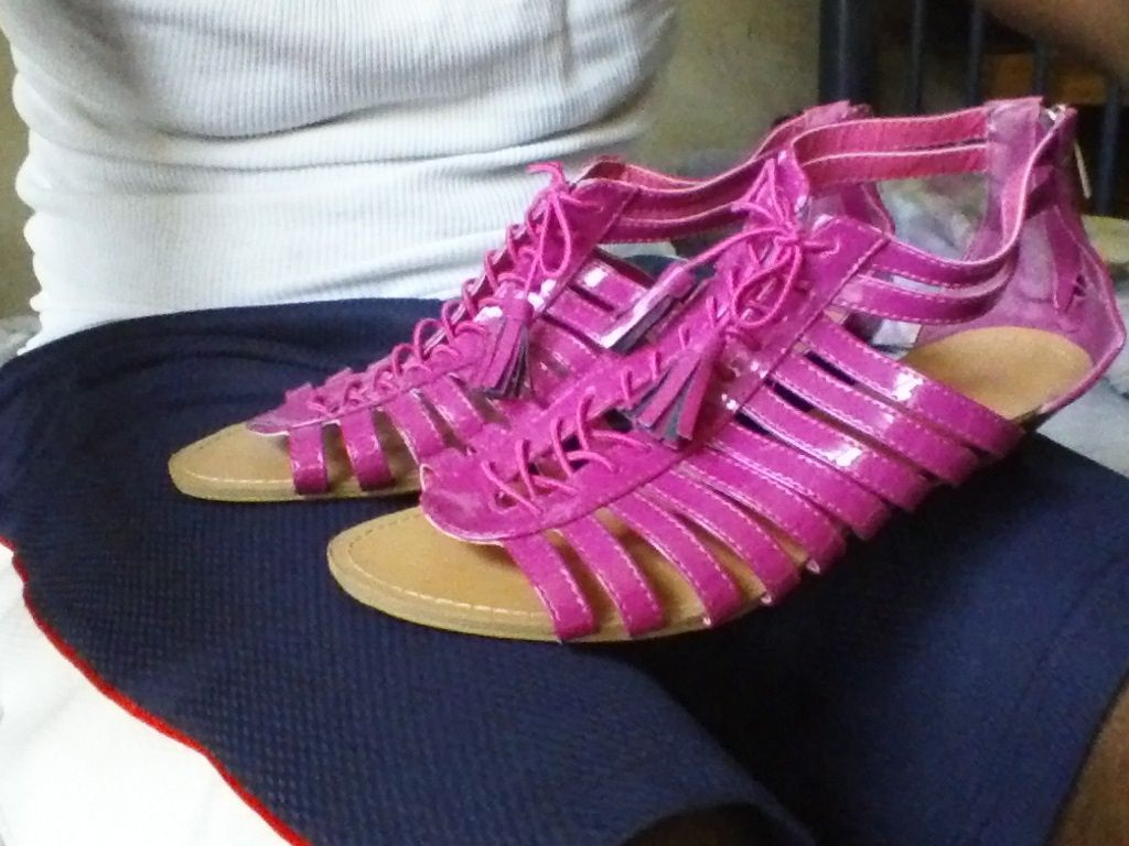 6992456bc276 Rouge Helium Size 10 Pink Gladiator Sandals and 50 similar items